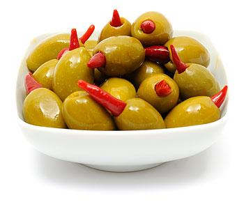 Piri-Piri Olives
