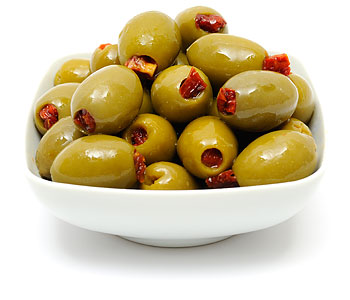 Sun dried tomato Olives