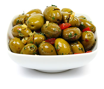 Etna Cracked Olives