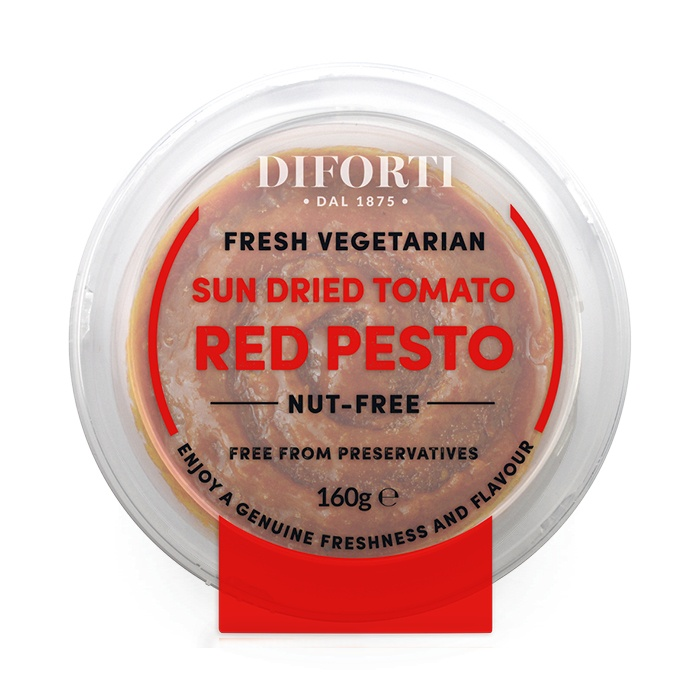 Vegeterian Red Pesto • 160gr Nut free