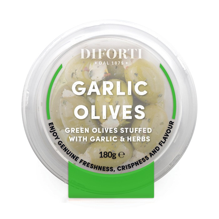 Garlic Olives