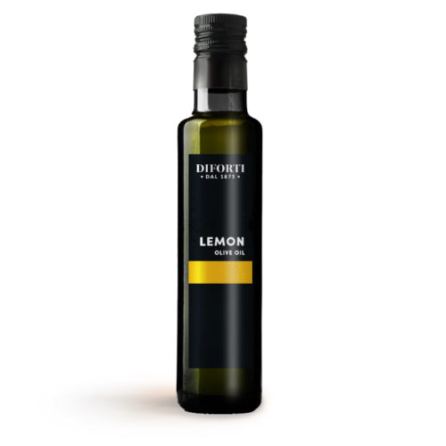 Extra virgin olive oil infused with lemon 250ml