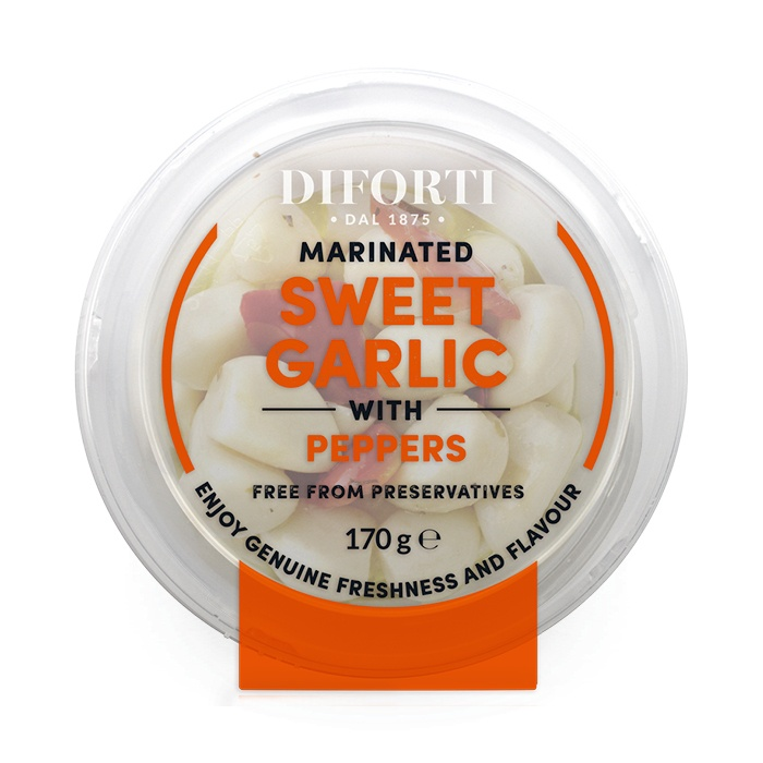 Sweet Garlic With Peppers And Herbs 170gr