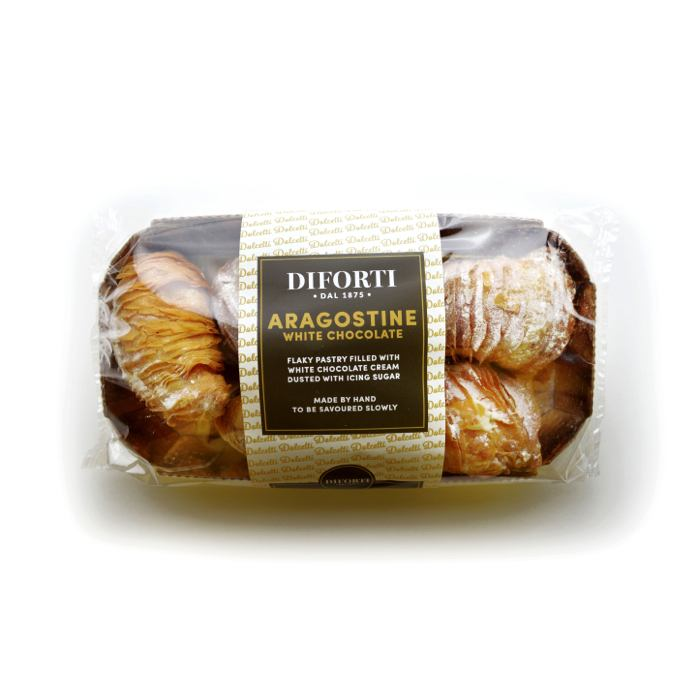 Aragostine Filled With White Chocolate Cream 150g
