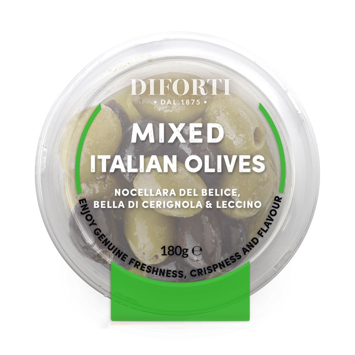 Mixed italian olives
