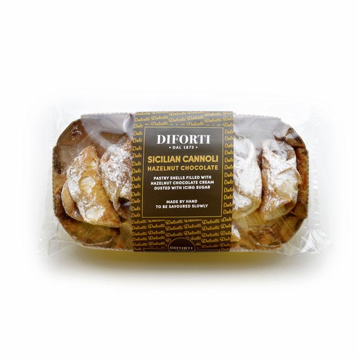 Sicilian Cannoli Hazelnuts Chocolate Cream 150g