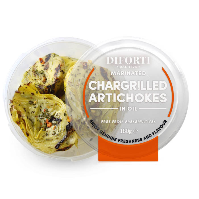 Chargrilled Artichokes 180gr