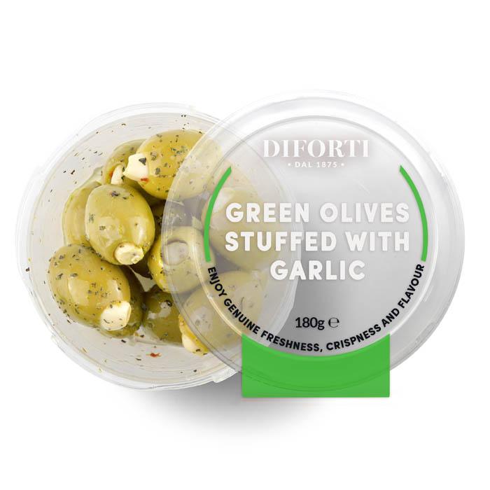 Garlic Olives