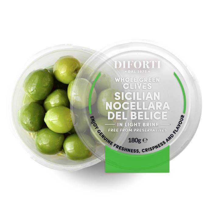 Nocellara del Belice olives Castelvetrano • Olivedde 170g