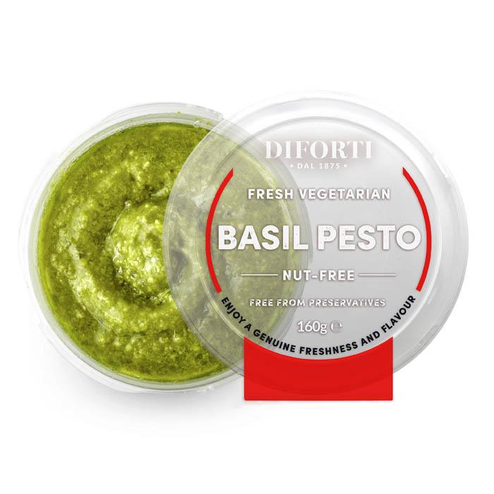 Vegetarian Basil Pesto • 160gr Nut Free