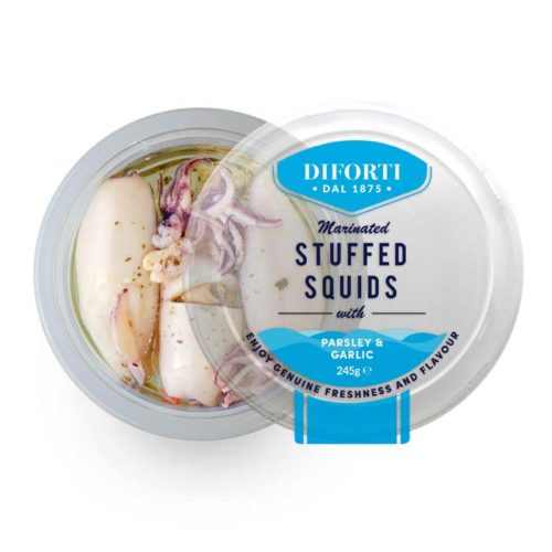 Stuffed Squids-245g-Diforti